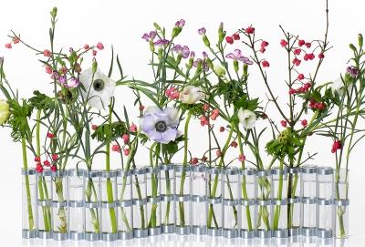 Grand vase d'avril fleurs