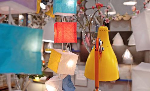 Lampe Cubiste Ambiance von Tsé&Tsé