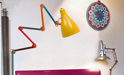 """Lampe """"Mirobolite sur pied"""" multi-colore von Tsé & Tsé"""