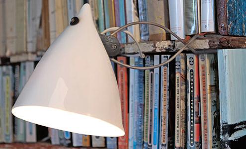 """""""Cornette"""" Clip-on-Lampe von Tsé & Tsé"""